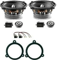 FOCAL RSE-130 KIT 4 CASSE RENAULT CLIO 2013 IN POI SUPP/CONN ALTOPARLANTI AUTO
