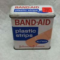 Vintage Tin Band-Aid Can ONLY