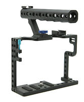 DSLR GH5 Camera Video Cage With Top Handle For Panasonic Lumix GH5 Camera Rig