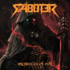 SABOTER - Architects Of Evil (NEW*POWER METAL*MANOWAR*ICED EARTH*RAM*PORTRAIT)