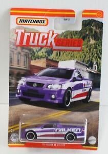 Matchbox MBX Truck series 08 Holden VE UTE SSV Falken Purple FNQHotwheels FM389