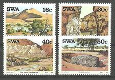 Südwestafrika - Sehenswürdigkeiten Satz postfrisch 1988 Mi. 621-624
