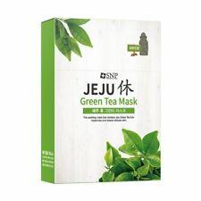 [SNP] Jeju Rest Green Tea mask Pack 10Sheet in 1Box K-Beauty Moisturizing
