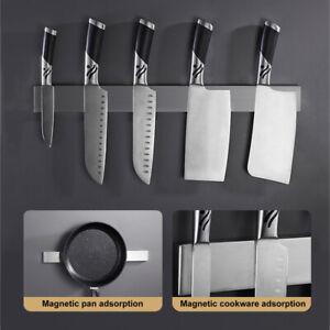 Küchen Messer Magnetleiste Ohne Bohren Wandmontage Edelstahl Messerhalter 50CM