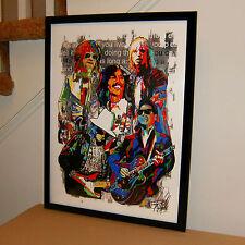Traveling Wilburys Dylan Harrison Petty Rock Music Poster Print Wall Art 18x24