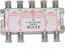Brand New ClearView 8 Way F connector splitter 5-2250MHz