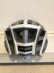 Specialized Aspire Womens Helmet Silver/White
