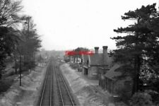PHOTO  BRANSTON & HEIGHINGTON RAILWAY STATION LINCS REMAINS 1961 GN&GER JT MARCH