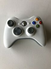 """VG"" Official Microsoft Xbox 360 WHITE Wireless Controller Tested Fast Shipping"