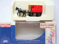 Post-Kutsche Horse drawn delivery van cart ROYAL MAIL, Days Gone 1:72 (?) boxed!