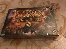 2002 RISK THE LORD OF THE RINGS Conquest EDITION GAME NEW FACTORY SEALED Look