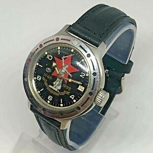 Vostok Amphibia Auromatic Soviet Wrist Watch Diver USSR Komandirskie Motherland