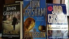 The Confession, The Broker, The Runaway Juror 3 books