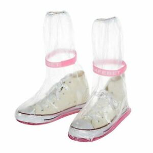 Waterproof Thicken Water Boots Rain Boots Shoe Covers Overshoes Rain Galoshes