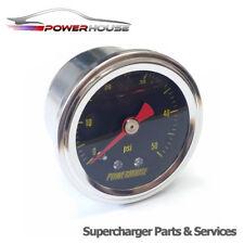 50 Psi Carburante Manometro 40mm Universale Tuning 3.4 Barra Gas Pieno