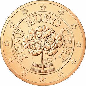 [#727930] Autriche, 5 Euro Cent, 2013, FDC, Copper Plated Steel, KM:3084