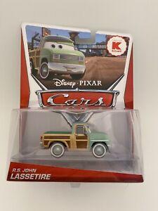 Disney Pixar Cars - R.S. JOHN LASSETIRE - DELUXE K-Mart Exclusive (2013)