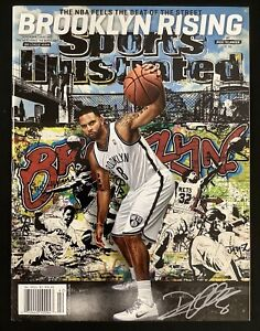 Deron Williams Signed Sports Illustrated Mag 10/15/12 No Label Nets Auto Steiner
