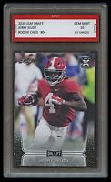 JERRY JEUDY 2020 LEAF DRAFT 1ST GRADED 10 ROOKIE CARD RC ALABAMA/DENVER BRONCOS