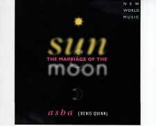 CD ASHA (Denis Quinn)the marriage of the sun & moonNEAR MINT  (R1159)