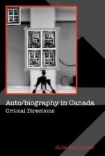 Cultural Studies: Auto/Biography in Canada : Critical Directions (2005,...