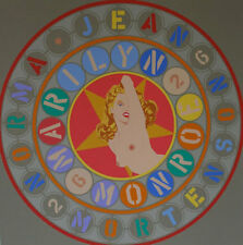 "Robert Indiana       ""Metamorphosis of Norma Jean""    1998   Screenprint"