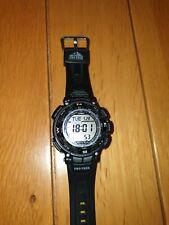 Genuine! Casio Pro Trek Men's Solar Powered Watch PRG-240B-2ER With Instructions