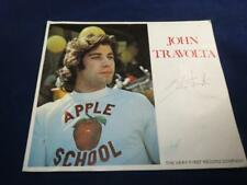 VINTAGE MUSIC EPHEMERA John Travolta SIGNED