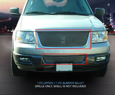 Fedar Billet Grille Combo For 2003-2006 Ford Expedition Web - Polished