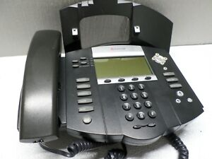 Polycom SoundPoint IP 550 IP550 SIP 2201-12550-001 Phone W/ STAND & HANDSET