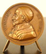 Médaille Saint Vincent de Paul ou Vincent Depaul 1821 sc E Gatteaux medal