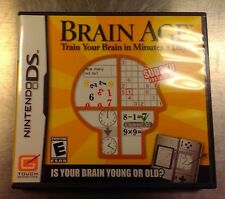 Brain Age: Train Your Brain in Minutes a Day Nintendo DS NDS DSI LITE XL