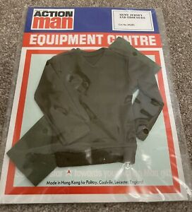 Brand New Vintage Action Man Army Jersey & Trousers In Orginal Packaging