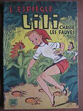L'ESPIEGLE LILI CHASSE LES FAUVES (1962)