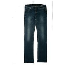 Replay Ratlin Damen Jeans Hose Stretch slim straight W30 L34 blau