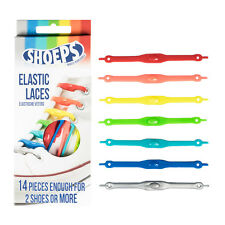 Lacci da Scarpe Elastici in Silicone Mix Multicolor - Shoeps Elastic Laces