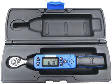 Clé dynamométrique numérique avec 10 préréglages 1/4 pouces Gamme: 6-30Nm