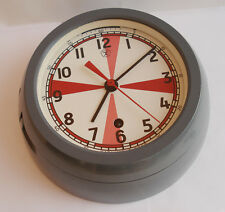 USSR RUSSIAN SUBMARINE NAVY MARINE SHIP CABIN RADIO DECK-HOUSE CLOCK 3-86
