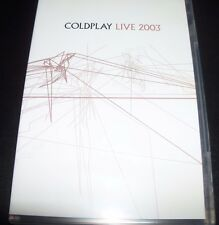 Coldplay Live 2003 (Australia PAL All Region) DVD – Like New