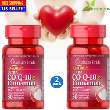 #1 BEST Q-SORB CO Q-10 CO-ENZYME HEART ATTACK DIETARY SUPPLEMENT 60 SOFTGELS