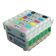 Refillable Ink Cartridges Kit for EPSON T50 T59 TX650 TX659 TX700W TX710W 82N
