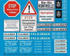 Peddinghaus 3108 1/16 esercito tedesco ETICHETTE Feldjäger