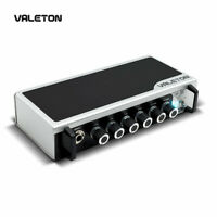 Valeton Guitar Amp Head Asphalt Pedal with Reverb Distortion Overdrive TAR-20G