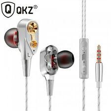 QKZ CK8 Earphones Bass Headset HiFi Earbuds In-Ear...