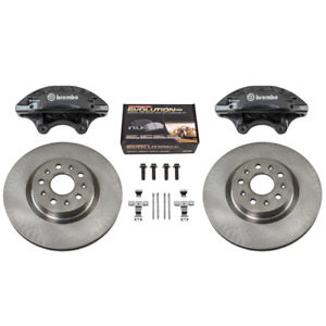NEW GM OEM Brembo 4 Piston Front Brake Upgrade Kit 2016+ Chevy Camaro SS LT LS