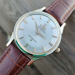 Omega Constellation Pie Pan Gold - Steel 1962 Cal 551 Ref 167.005 Vintage watch