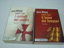 (Jack Whyte) Il leone dei templari + I custodi del codice 2010 PIEMME 2 vol