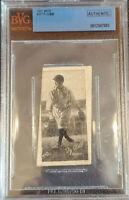 TY COBB 1922 W572 HAND CUT CARD #13 🔥VERY RARE🔥BVG AUTHENTIC 🔥BECKETT