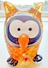 Beranek/Skrdlovice verre Oiseau Pingouin irisé tchèque art glass 10 cm