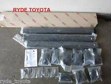 ^PRADO 120 3 BAR AERO ROOF RACKS GX GXL 9/02 TO 7/09 ** TOYOTA GENUINE PARTS **